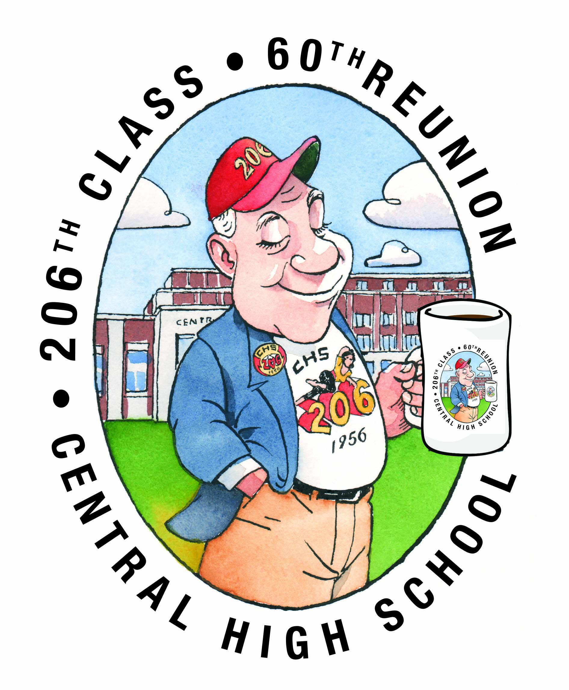 60th Reunion Logo